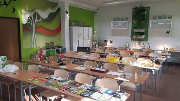 Zielona pracownia w Szkole Podstawowej nr 4 im. Jana Pawła II w Rybniku