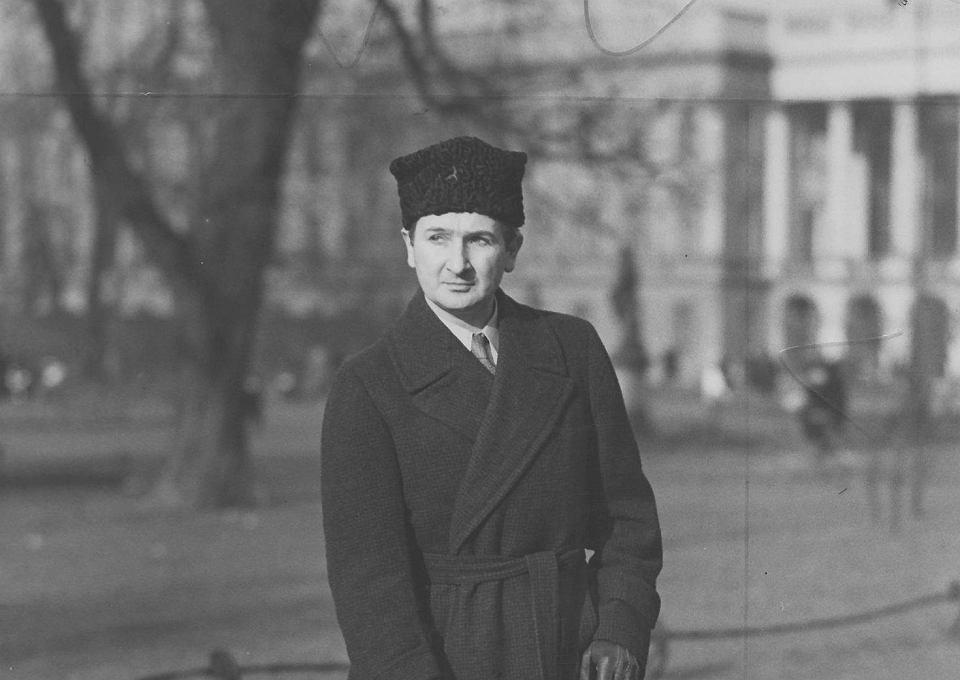 Stanisław Szukalski w Warszawie, ok. 1929-36