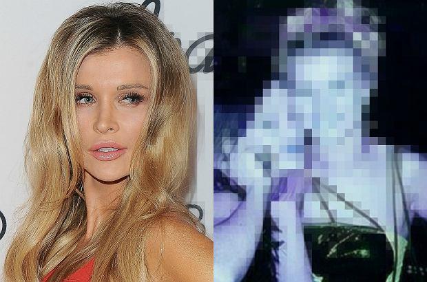 Zdjęcie numer 0 w galerii - Joanna Krupa ponoć jedynie poprawiała piersi. A co z twarzą? Mamy wątpliwości czy to