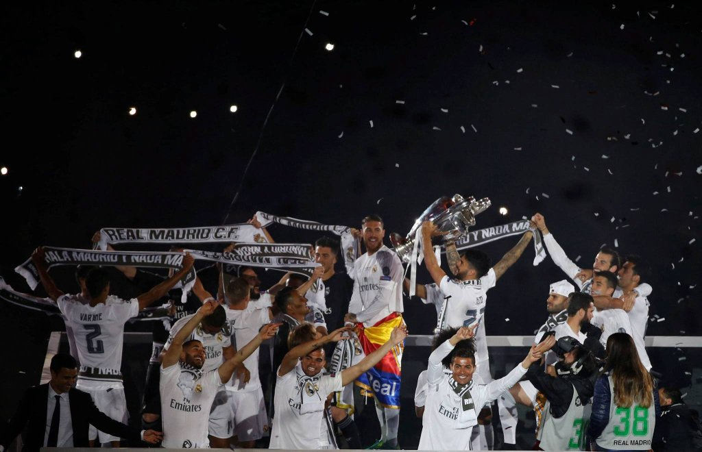 Ogromna radość Realu Madryt