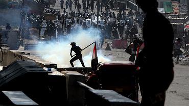 Protesty w Bagdadzie
