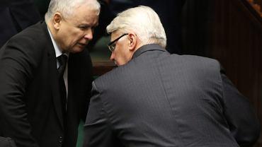 Witold Waszczykowski i Jarosław Kaczyński, 15 Posiedzenie sejmu VIII Kadencji
