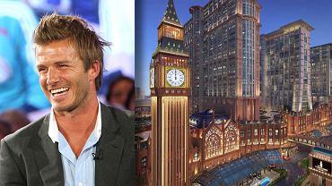David Beckham otwiera hotel w chińskim Makao