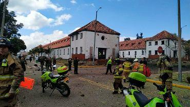 Kolumbia. Doszło do ataku na akademię policyjną w Bogocie