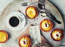 Tartaletki migdałowe z masą cytrynową - ugotuj