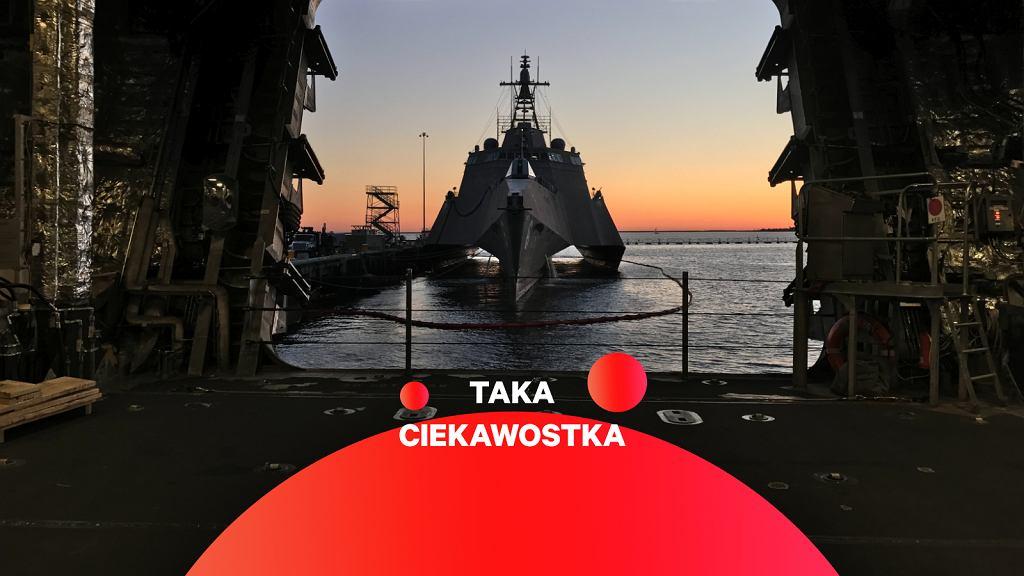Jeden z okrętów typu Independence, USS Jackson