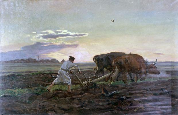 'Orka' Józef Chełmoński, 1896 r.