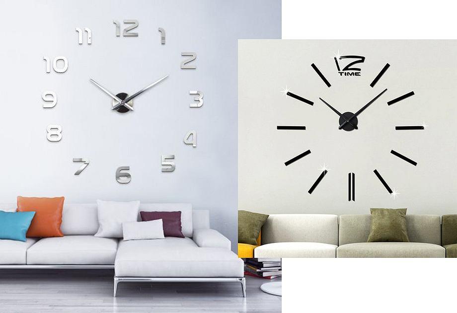 Duże zegary ścienne nowoczesne