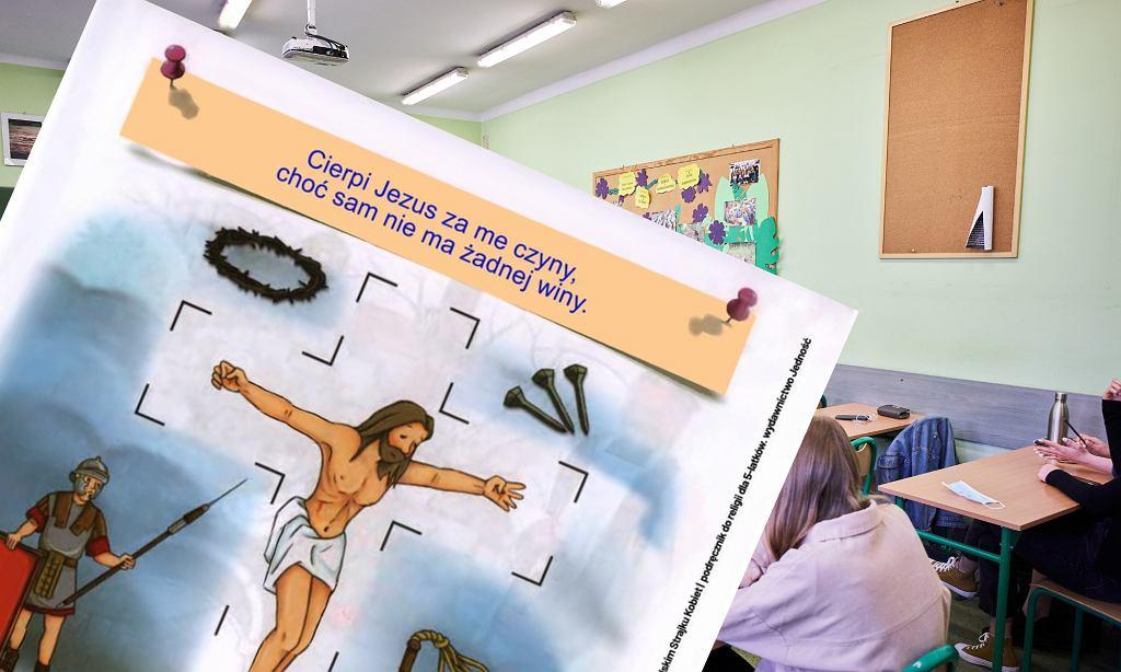 Kontrowersyjne zadanie w podręczniku do religii