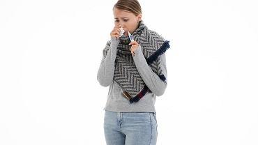 Choroba: pomiar temperatury ciała