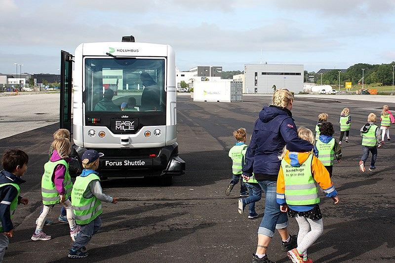 Autonomiczne autobusy wyjadą na ulice Norwegii