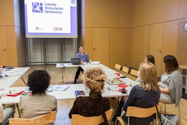 Spotkanie koordynatorów w ramach projektu 'Lokany Wolontariat Opiekuńczy'