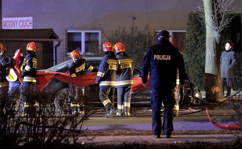 Oświęcim, miejsce wypadku premier Szydło