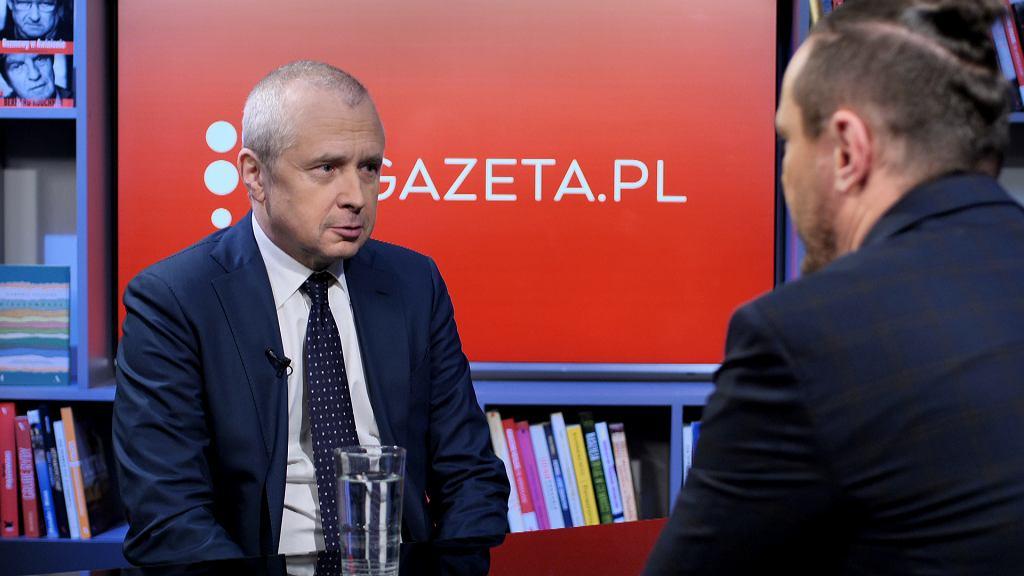 Mecenas Jacek Dubois gościem Gazeta.pl