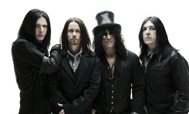 Slash z zespołem