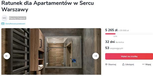 Zbiórka dla właściciela nieruchomości