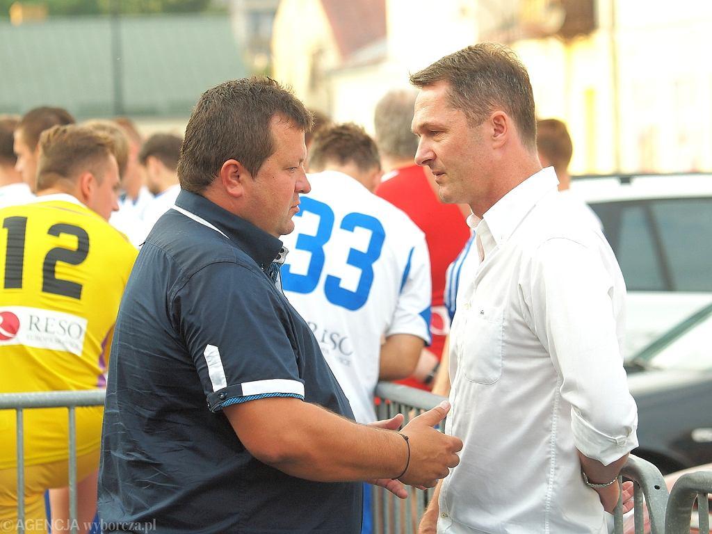 Dariusz Mazur i Jacek Zieliński