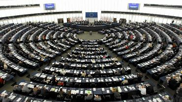 Parlament Europejski sala plenarna