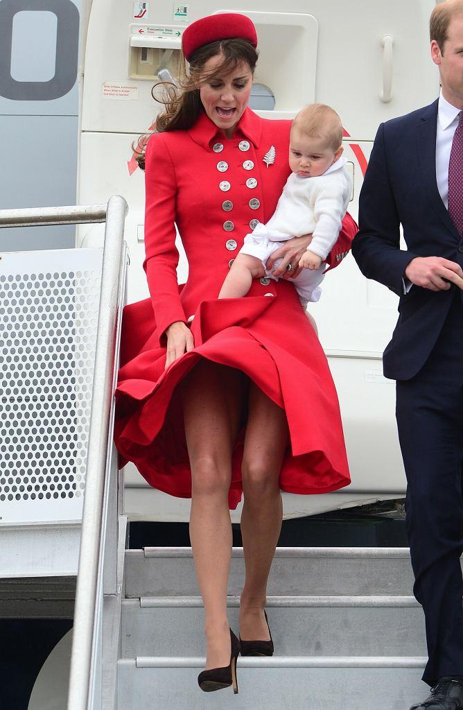 Księżna Kate w Nowej Zelandii