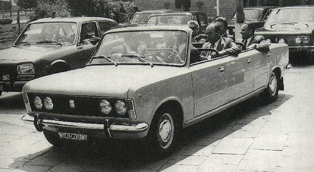 Fiat 125p Jamnik - tak w 1974 roku towarzysze Gierek i Jaroszewicz uczcili święto 22 lipca