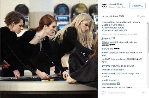 Gwiazdy grają w ruletkę w pokazie Chanel haute couture jesień-zima 2015