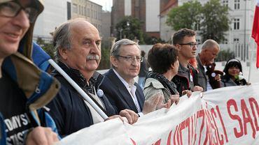 Manifestacja 'Europo, nie odpuszczaj' we Wrocławiu