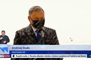 """""""Wiadomości"""" TVP i Duda wspierają nałożenie haraczu na wolne media"""