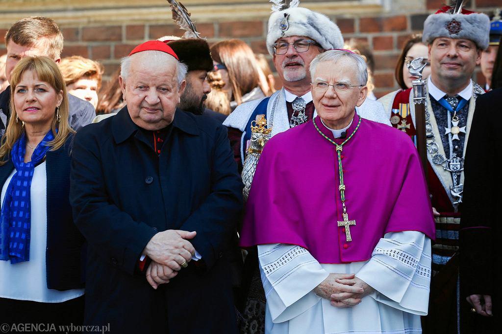 Kard. Stanisław Dziwisz i abp Marek Jędraszewski