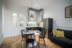 Stylowe mieszkanie w Warszawie. 36 metrów pełne elegancji