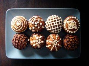 Piernikowe muffiny z niespodzianką