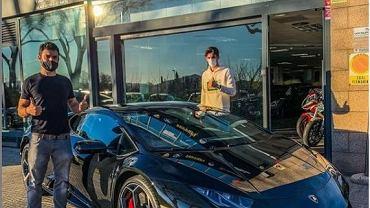 Francisco Trincao z Lamborghini
