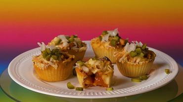 Muffiny z parówkami
