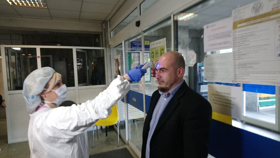 Epidemia koronawirusa. Środki ostrożności w Mazowieckim Szpitalu Specjalistycznym w Radomiu