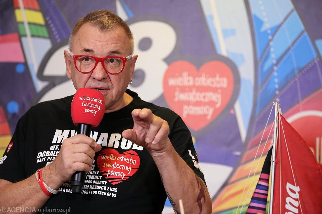 Jerzy Owsiak, szef Wielkiej Orkiestry Świątecznej Pomocy