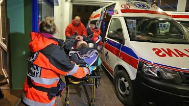 Krawiącego mężczyznę przewieziono do centrum medycznego, fot. Marek Podmokły/AG, zdjęcie ilustracyjne