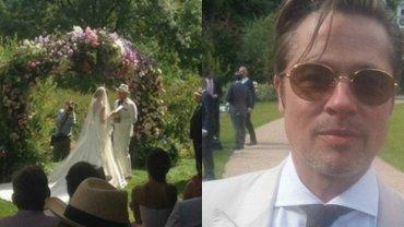 """Ślub Guya Ritchiego i 33-letniej modelki Jacqui Ainsley to bez wątpienia jedno z ważniejszych wydarzeń towarzyskich ostatnich miesięcy. Reżyser rozwiódł się z Madonną 7 lat temu, ale dopiero teraz zdecydował się na ponowny ślub. Uroczystość odbyła się w czwartek w ich posiadłości w Wiltshire. Poprzedził ją """"tydzień"""" kawalerski i panieński. Ritchie i jego przyjaciele udali się do Bordeaux, a panna młoda podróżowała po Anglii. Para powiedziała sobie """"tak"""" na terenie posiadłości w południowo-zachodniej Anglii, gdzie znajduje się ich pochodzący z XVIII wieku dom. Oprócz dużych namiotów z posiłkami i drinkami, na trawie postawiono drewniane, pokryte białym materiałem domki dla gości. Nic dziwnego, że miejsce ceremonii widziane z góry przypominało teren festiwalu muzycznego."""