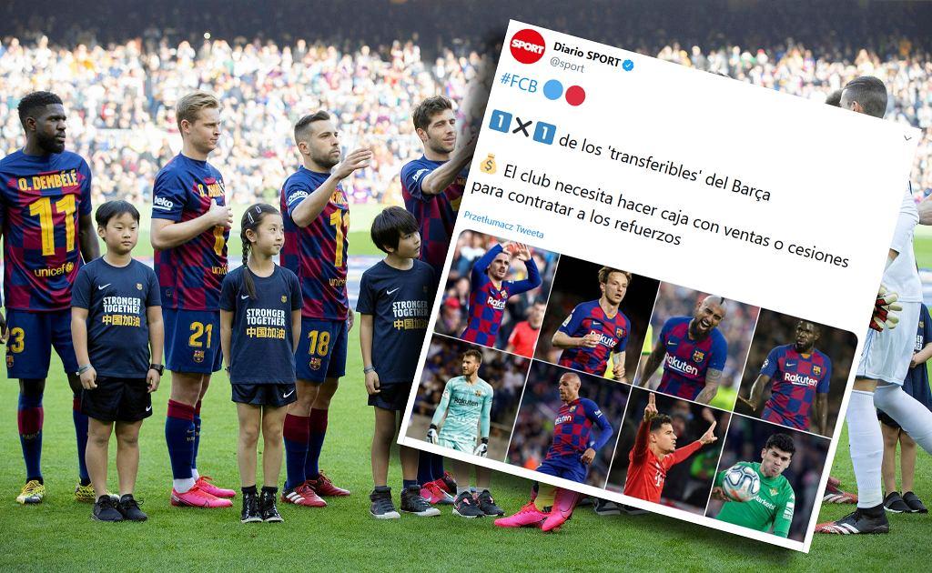 Ośmiu piłkarzy na wylocie z Barcelony