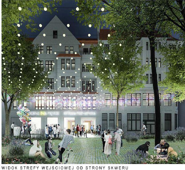 Projekt przebudowy siedziby Estrady Poznańskiej