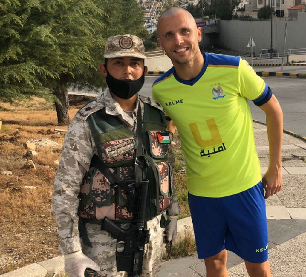 Łukasz Gikiewicz o życiu w Jordanii