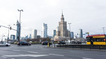 Rondo Dmowskiego w Warszawie