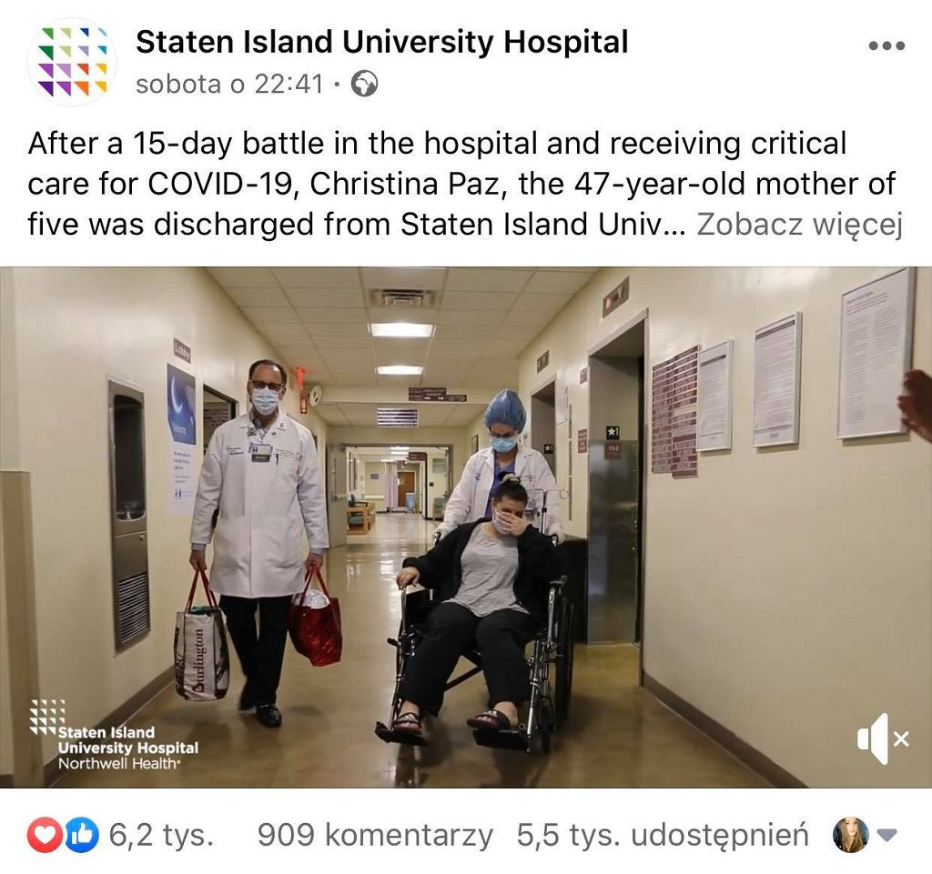 Facebook - Staten Island University Hospital