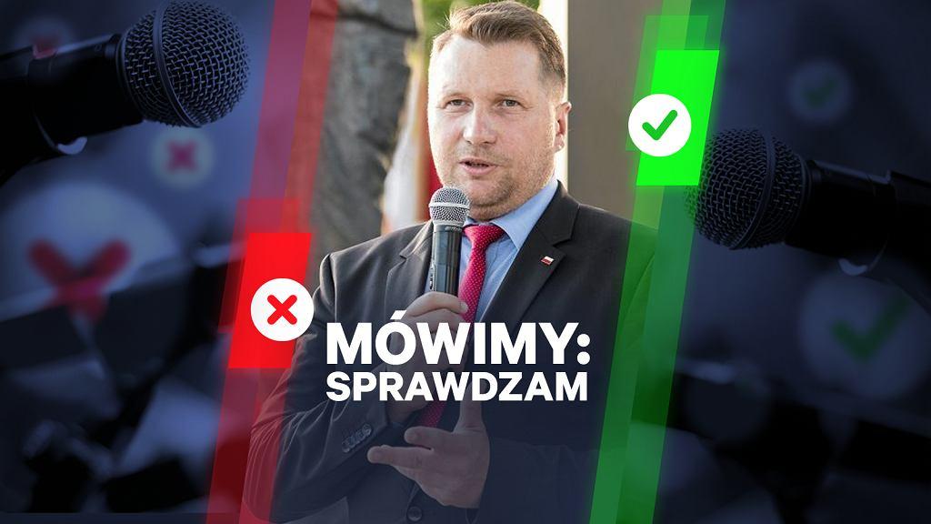 Minister Czarnek: Dzieci nie są wybitnymi transmiterami