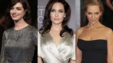 Anne Hathaway, Angelina Jolie, Uma Thurman