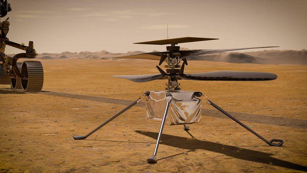 Helikopter Ingenuity rozpocznie pierwszy lot na Marsie. Wkrótce będzie gotowy do startu
