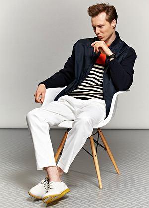 Trendy 2013: wiosenny styl, styl, moda męska, kurtka z kolekcji H&M. Cena: 229 zł