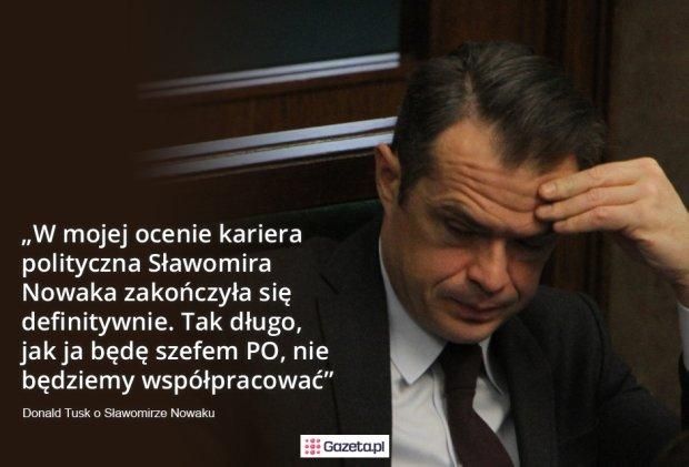 Tusk o Nowaku
