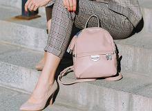 Stylowe plecaki damskie: skórzane i materiałowe. Idealne na co dzień lub na urlop!