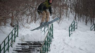 urban skiing