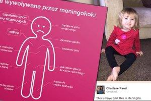 Mała Faye zmarła. Szczepionka uratowałaby jej życie
