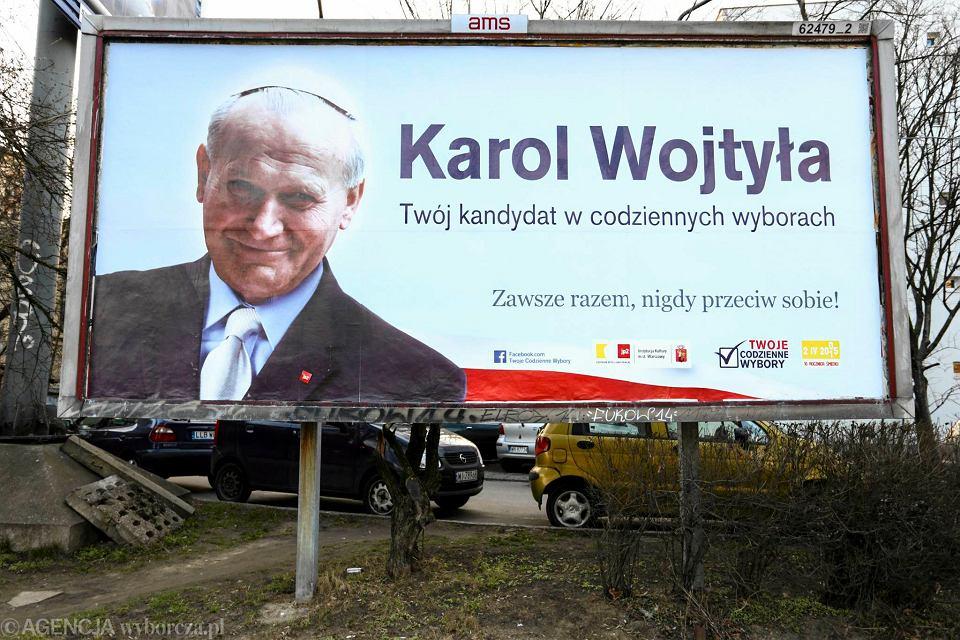 Zdjęcie numer 1 w galerii - Samorządowa instytucja zachęca: Wybierz Karola Wojtyłę i idź śmiało naprzód!